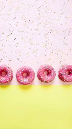 #donuts #pink #wallpaper #wallpapers #background #iphone #fondepantalla