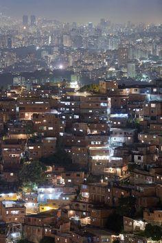 Caracas, Venezuela. y la sabana de ranchos que ha dejado la democracia mal entendida de nuestros políticos.