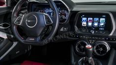 2016 Chevy Camaro Gen 6 interior photos