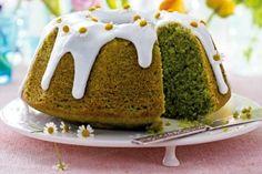 Zitronennapfkuchen Grüne Wiese