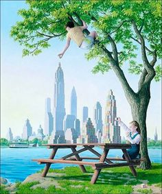 Surreal Paintings by Rob Gonsalves | Ritemail