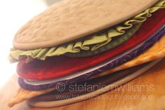Build-A-Burger ... by stefanieW | Quilting Pattern - Looking for a quilting pattern for your next project? Look no further than Build-A-Burger Potholder Set PDF Pattern from stefanieW! - via @Craftsy