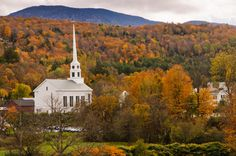 Vermont claims to have the best fall color in the world, and there's no better way to convince you of that than a trip to this charming town that's home to the famous Trapp Family Lodge. The most brilliant color peaks from the last week of September through the first few weeks of October.  For more information, visit Gostowe.com.   - CountryLiving.com