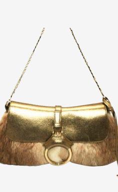 Dolce Gabbana Gold Handbag