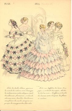 La Mode Pendant Quarante Ans de 1830 a 1870