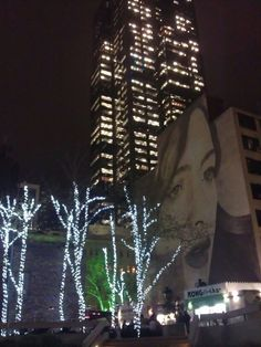 Rone at night. Melbourne Au, Places To Go, Street Art, Australia, Lighting, Night, Home Decor, Light Fixtures, Lights