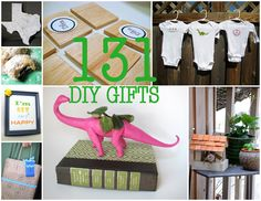 131 DIY Gifts (for everyone on your list!)