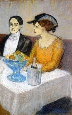 Angel Fernandez de Soto et son amie (1903)