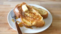How to Make Perfect French Toast - Learn the secrets to giving your French toast a creamy yet crispy texture. Breakfast Pancakes, Pancakes And Waffles, Breakfast Dishes, Breakfast Recipes, Breakfast Ideas, Breakfast Time, Breakfast Casserole, Brunch Recipes, Wine Recipes