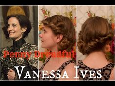 Penny Dreadful Inspired Hairstyle: Vanessa Ives - YouTube