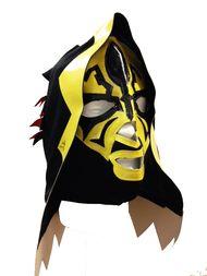 FM CHAMPION WRESTLER OS-Adult Hooded Mask Cape Fight Wrestle B22