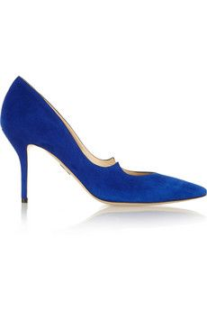 Paul Andrew Kimura suede pumps | THE OUTNET