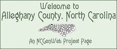 Alleghany County NC