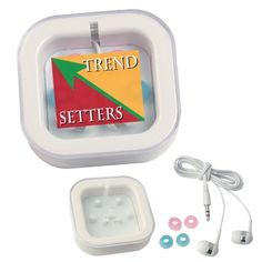 Shop at Deluxe for the Ear Buds in Case that can be customized with your logo or personalized message. Order Ear Buds in Case in bulk at wholesale prices today.