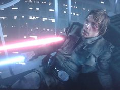 Vader: You are beaten, it is useless to resist.(Luke does a cute and puffy scared face) Me: CUTETIE
