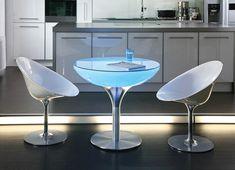Table Lounge variation en 75 cm de hauteur