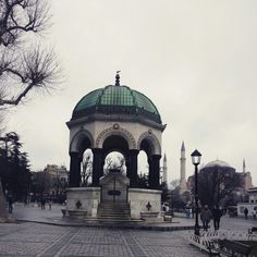 Istanbul 독일분수