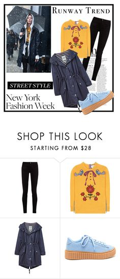 """kKeeping on the STREET!"" by neelanjana-rumbangsha-railepcha on Polyvore featuring Anja, Gucci, Joules, StreetStyle, NYFW and 2017"
