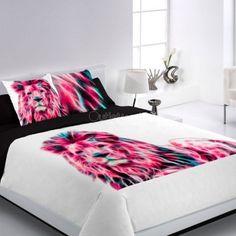 Funda Nórdica LION Encama Lion, Bedroom, Table, Bedding, Inspire, Furniture, Home Decor, Handmade, Duvet Covers