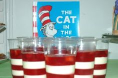 Cat in the Hat jello cups Warrior Cats, Cat Toys