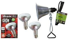 MiracleLED 604963 12W Grows for Pennies Ultra Grow 1000 Lumen Daylight Spectrum Grow LED Bulb