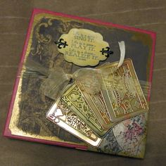 Masculine Inspirations in Paper & Crafts: Big Deal Winter Mini Album - by Debby Hernandez