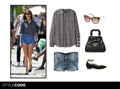 GET THE LOOK! Today, Alexa Chung's street style.