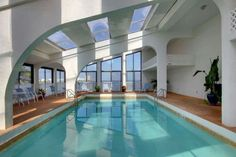 Indoor pool as well!