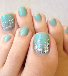 Stylish Toe Nail Designs For Beach Party More
