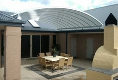 SolarSpace™ - Danpalon Architectural Glazing Solutions - better than a shade sail Outdoor Rooms, Outdoor Decor, Roofing Materials, Gazebo, Architecture, Building, Home Decor, Arquitetura, Kiosk