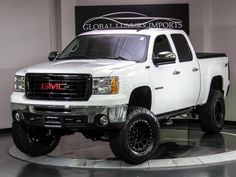 2007 GMC Sierra 1500 Vortec Max lifted  lifted trucks that I