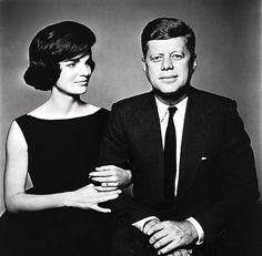 Jan. 3, 1961, president-elect, John F. Kennedy and Jackie. Photographed by Richard Avedon.