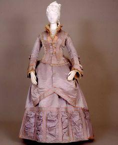 Day dress ca. 1869  From the Galleria del Costume di Palazzo Pitti via Europeana Fashion