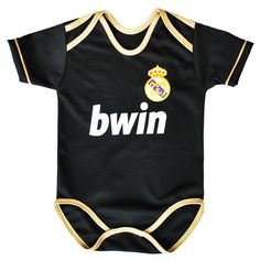He/she is definitely going to need a Real Madrid onesie. I couldn't find a Sevilla or Crew one :P