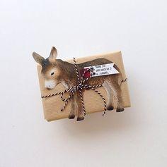 cute donkey toy at www.minizoo.com.au