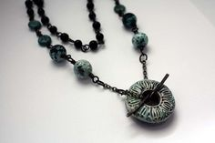 Around the Globe necklace by CraftyHope