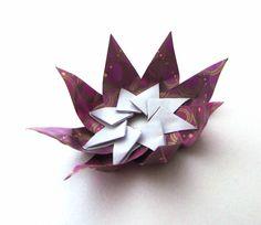 Origami - Candle holder ( table decoration) - Оригами - подставка под с...