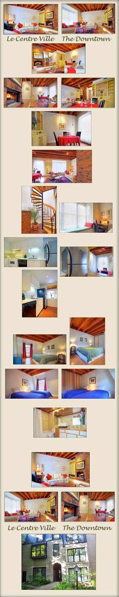 le centre ville Montreal Vacation, Holiday Apartments, Centre, Condo, Loft, City, Lofts, Attic Rooms, Mezzanine