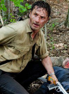Rick Grimes in 'The Walking Dead' Season 6 Episode 3 Thank You