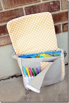 Great tutorial for this toddler messenger bag by hillyeah