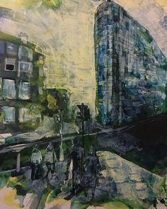 Urbis, Manchester ink and acrylic