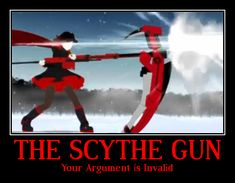 Scythe Gun: RWBY. My new obsession.