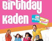 Fresh Beat Band Birthday Poster