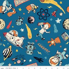 Spaceships astronauts on pinterest spaceships for 3d space fabric
