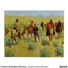 "Frederic Remington Western Art ""Missing"""
