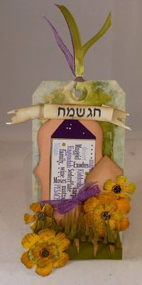 *{CraftChaos}*: Tim Holtz March Tag: Pesach March 2013
