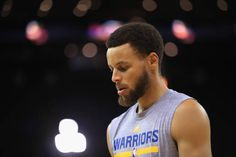 Stephen Curry of the Golden State Warriors warms up during practice for the 2017 NBA Finals at ORACLE Arena on May 31 2017 in Oakland California NOTE...