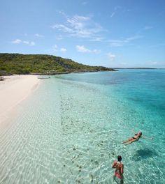Exuma, Bahamas beach