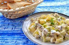 Potato Salad, Potatoes, Ethnic Recipes, Food, Pineapple, Potato, Essen, Meals, Yemek
