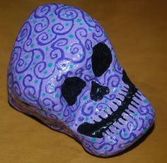 art painted rock by PamThayerArt on Etsy